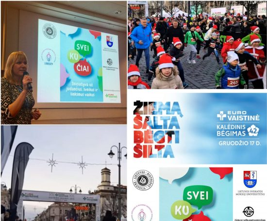 Eurovaistinė joins the initiative to encourage children to live healthy, joyful and active life