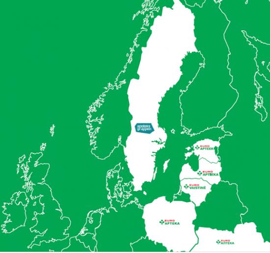"""""""Swedbank"""" kartu su SEB banku """"Euroapothecai"""" suteikė 185 mln. eurų paskolą"""
