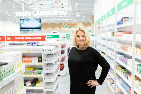 """Euroapotheca"" verslui Latvijoje vadovaus Natalija Zaharova"