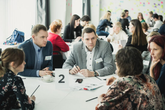 Building Employer brand at two days session in Vilnius
